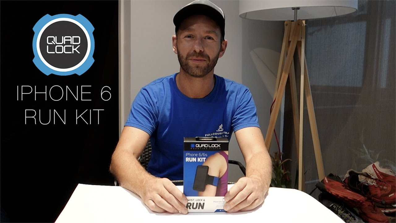 Quad Lock iPhone 6 Run Kit Review